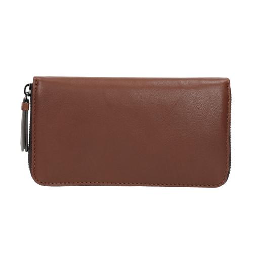 Portafoglio marrone in pelle bata, marrone, 944-3165 - 26