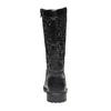 Stivali da ragazza con glitter mini-b, nero, 291-6165 - 17