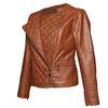 Giacca da donna con cerniera trasversale bata, marrone, 971-3186 - 15