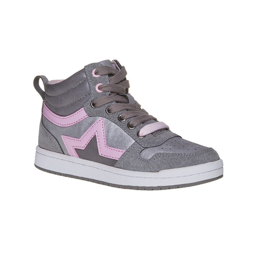Sneakers eleganti da ragazza mini-b, grigio, 321-1222 - 13