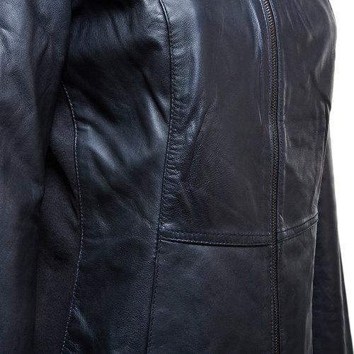 Giacca da donna in pelle bata, nero, 974-6174 - 16