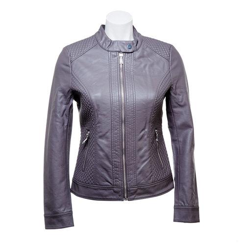 Giacca da donna con cuciture bata, grigio, 971-2183 - 13