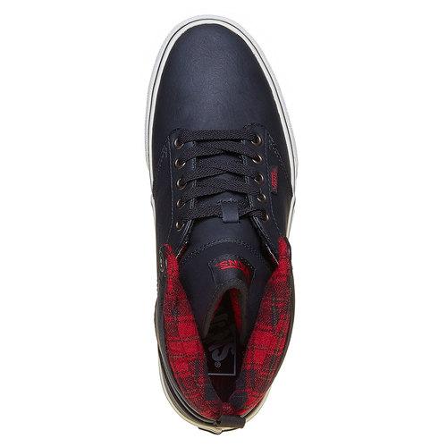 Sneakers da uomo alla caviglia vans, nero, 801-6308 - 19