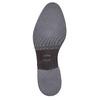 Scarpe di pelle alla caviglia bata, marrone, 593-3522 - 26