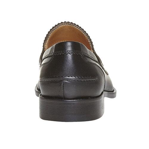 Mocassini in pelle da uomo bata-the-shoemaker, nero, 814-6160 - 17