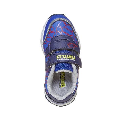 Sneakers da bambino con suola massiccia, blu, 211-9165 - 19