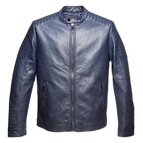 Giacca da uomo con cuciture eleganti bata, blu, 971-9163 - 13