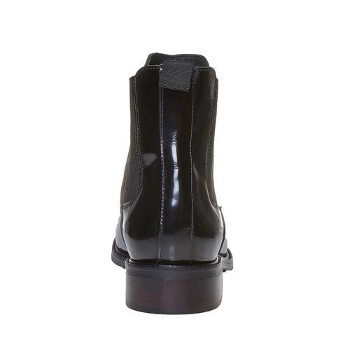 Scarpe da donna in stile Chelsea bata, nero, 594-6124 - 17
