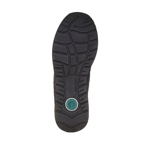 Sneakers eleganti in pelle bata, viola, 843-9685 - 26