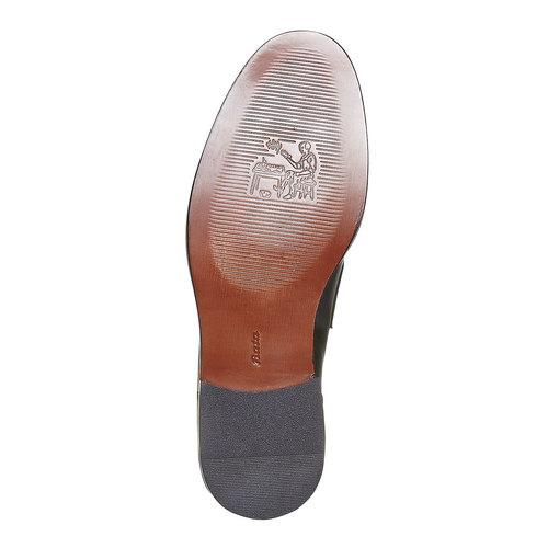 Mocassini in pelle da uomo bata-the-shoemaker, nero, 814-6160 - 26