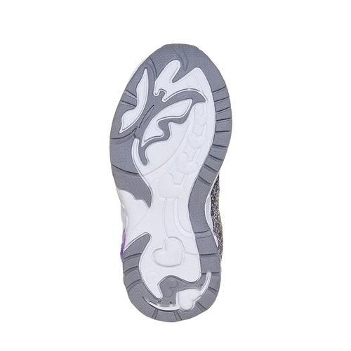 Sneakers da bambino con glitter, grigio, 229-2171 - 26