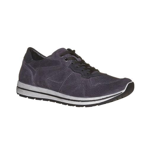 Sneakers eleganti in pelle bata, viola, 843-9685 - 13