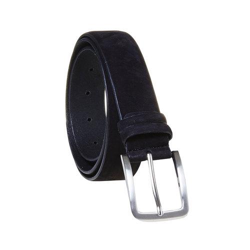 Cintura di pelle da uomo bata, nero, 954-6120 - 13