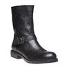 Stivali da donna con fibbia bata, nero, 594-6125 - 13