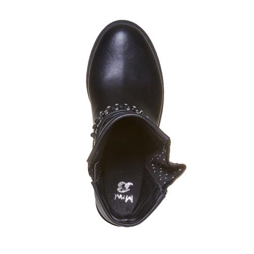 Stivali con borchie di metallo mini-b, nero, 391-6248 - 19