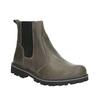 Scarpe in pelle sopra la caviglia da bambino mini-b, grigio, 394-2316 - 13