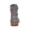 Stivali da ragazza con strass mini-b, grigio, 391-2261 - 17