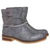 Stivali da ragazza con strass mini-b, grigio, 391-2261 - 26