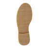 Scarpe da bambina con allacciatura e strass mini-b, marrone, 391-3262 - 26