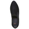Scarpe basse di pelle con tacco flexible, nero, 613-6111 - 19
