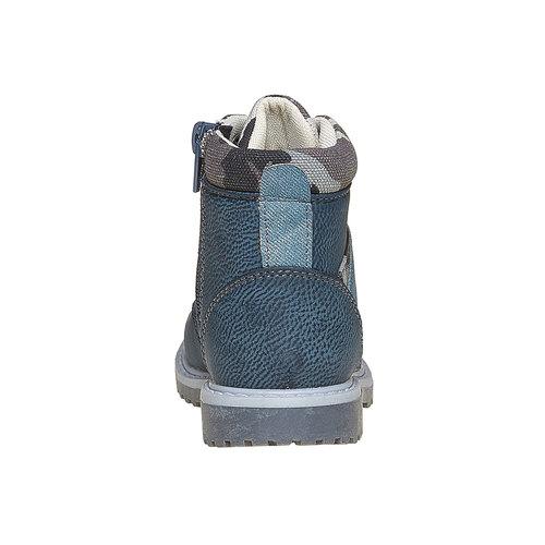 Scarpe da bambino alla caviglia mini-b, blu, 291-9163 - 17