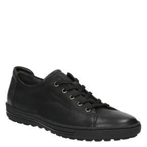 Sneakers da donna in pelle bata, nero, 524-6349 - 13