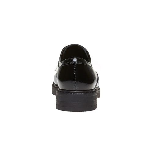 Scarpe basse da donna verniciate bata, nero, 528-6219 - 17