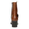 Stivaletti da donna di pelle bata, marrone, 694-3359 - 17