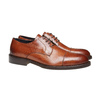 Scarpe basse di pelle con suola in pelle bata-the-shoemaker, marrone, 824-3185 - 26