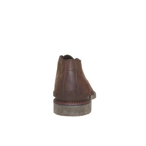 Scarpe da uomo in pelle in stile Desert Boots bata, marrone, 846-4649 - 17