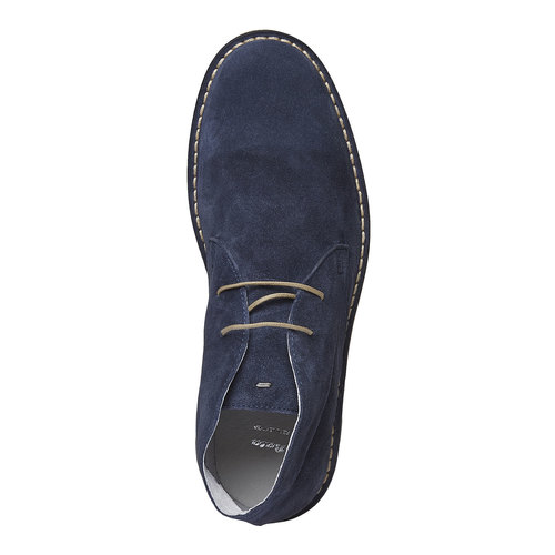 Scarpe scamosciate in stile Desert bata, viola, 843-9267 - 19