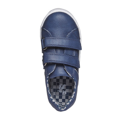 Sneakers da bambino con chiusure a velcro north-star-junior, viola, 211-9151 - 19