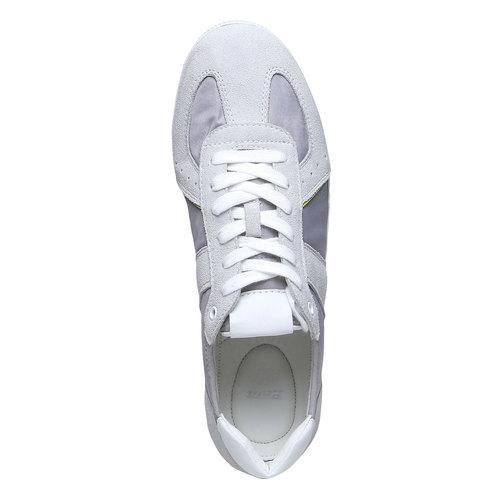 Sneakers informali da uomo bata, bianco, 849-1653 - 19