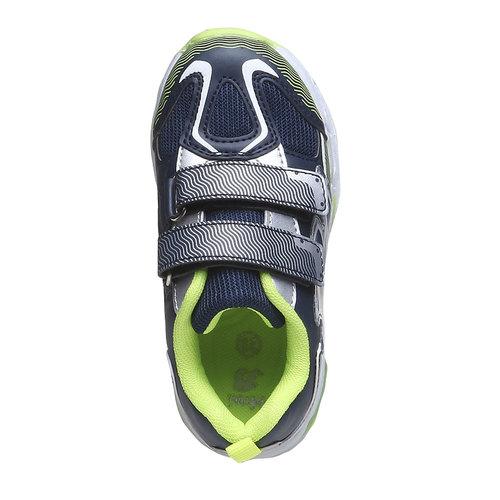 Sneakers da bambino con velcro mini-b, viola, 211-9155 - 19