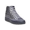 Sneakers argentate con cuciture bata, grigio, 691-2390 - 13