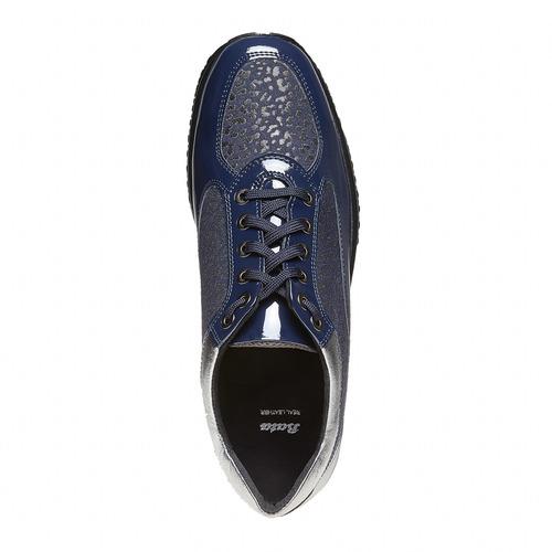 Sneakers eleganti da donna bata, blu, 524-9212 - 19