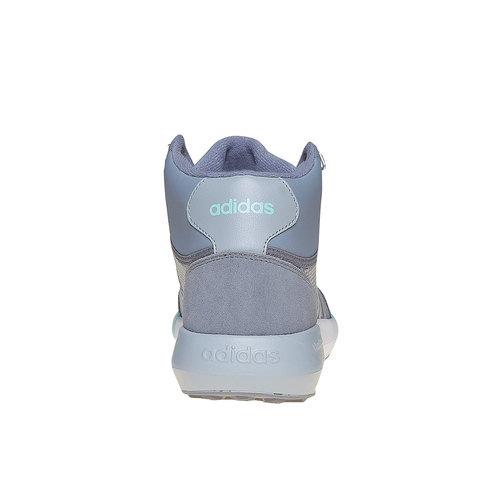 Sneakers da donna alla caviglia adidas, grigio, 509-2894 - 17