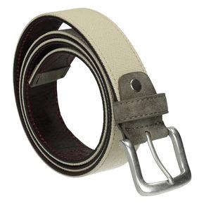Cintura casual in tessuto bata, giallo, 959-8261 - 13