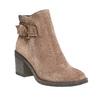 Scarpe da donna di pelle alla caviglia bata, marrone, 793-4542 - 13