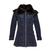 Giacca invernale da donna con pelliccia bata, blu, 979-9649 - 13