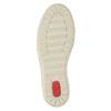 Sneakers da donna in pelle bata, beige, 524-8349 - 26