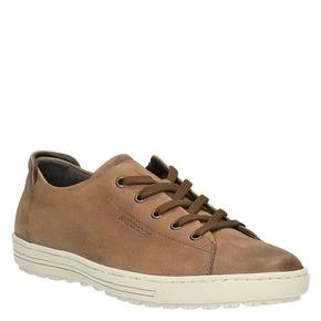 Sneakers da donna in pelle bata, beige, 524-8349 - 13