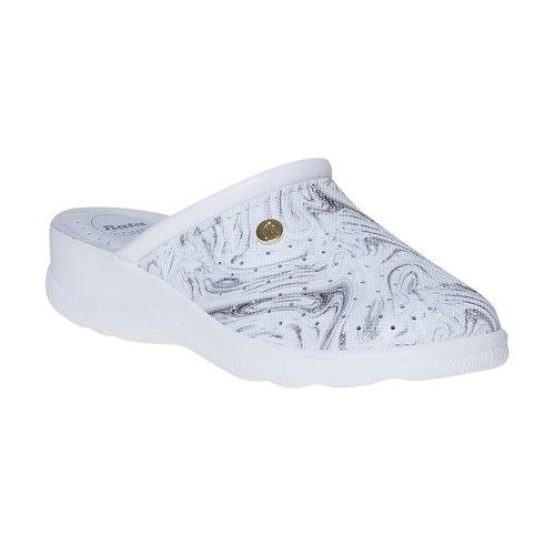 Pantofole da donna, grigio, 574-2346 - 13