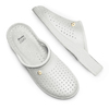 Pantofole da uomo bata-comfit, bianco, 874-1803 - 19