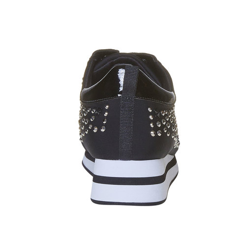 Sneakers da donna con plateau north-star, nero, 549-6139 - 17