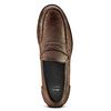 Scarpe da uomo in pelle in stile Loafer bata, marrone, 814-4128 - 15