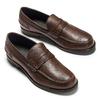 Scarpe da uomo in pelle in stile Loafer bata, marrone, 814-4128 - 19