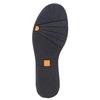 Scarpe in pelle da donna alla caviglia flexible, blu, 593-9577 - 26