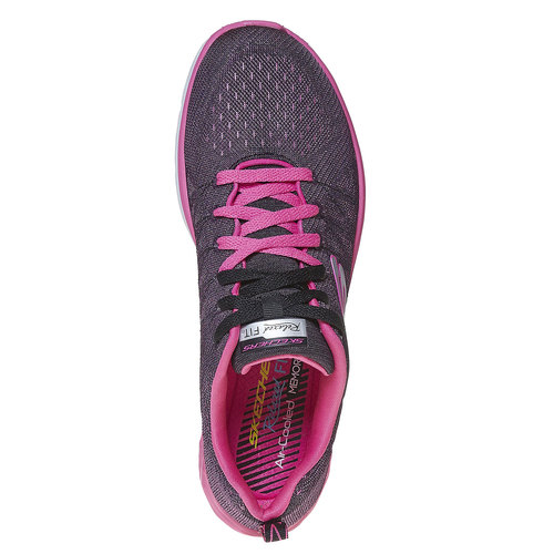 Sneakers sportive da donna skechers, rosso, 509-5353 - 19
