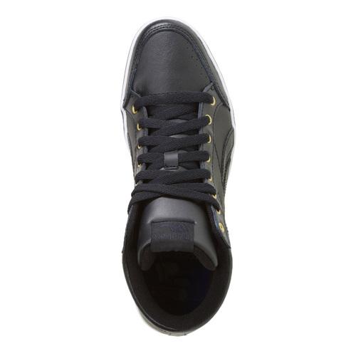 Sneakers da donna alla caviglia reebok, nero, 504-6111 - 19